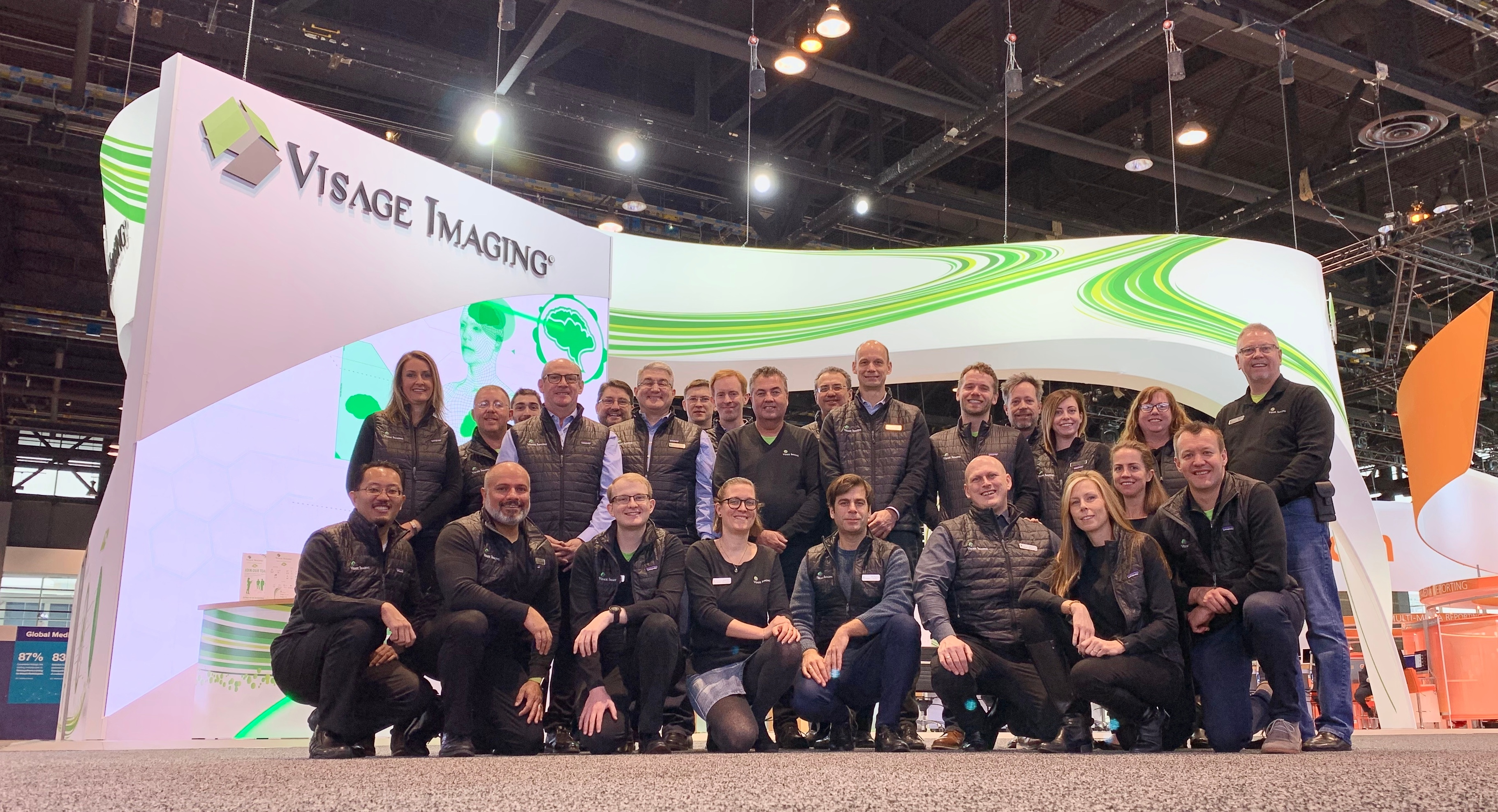 RSNA 2018 Visage Imaging Team
